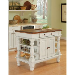 Americana Antiqued White Kitchen Island Today $474.20 4.4 (11 reviews