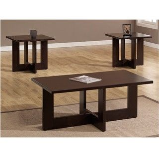 Geo 3 piece Table Set