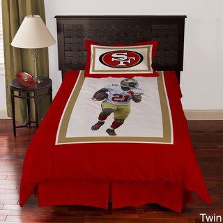 San Francisco 49ers Frank Gore 4 piece Comforter Set