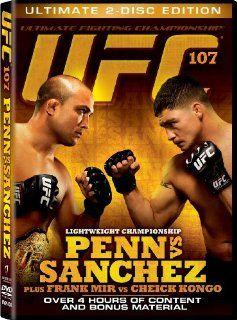 UFC 107 Penn Vs Sanchez BJ Penn, Diego Sanchez, Frank