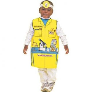 Dexter DEX 111 Scientist Costume Clothing