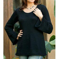 Alpaca Black Charisma Wool Sweater (Peru) Today $46.19 3.4 (8