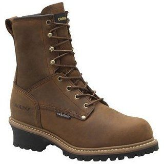 Carolina Boots Men Waterproof Insulated Logger Boots CA4821