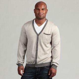 XRay Jeans Mens Grey Cardigan