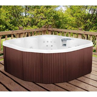 LifeSmart Sierra Rock Solid Series Plug and Play 5 person Spa