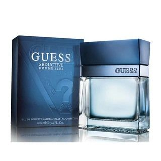 Guess Seductive Homme Blue Mens 3.4 ounce Eau de Toilette Spray