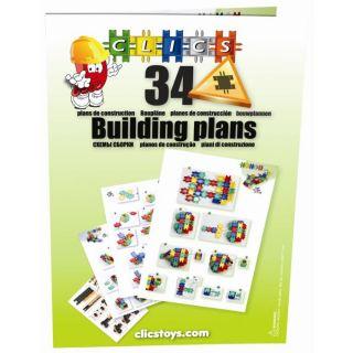 Bouquin de construction Clics, 72 pages   Achat / Vente JEU ASSEMBLAGE