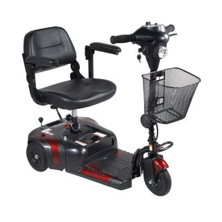 Mobility Safety Solution Power Scooter Folding Cane and Ramp Package