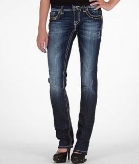 Miss Me Sequin Straight Stretch Jean DK 39 Clothing