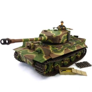 Char Tiger 1 Camouflage RTR 124   Achat / Vente MODELISME TERRESTRE