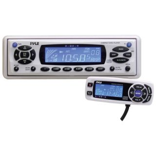 Pyle Marine CD Player/ Weather Band Radio (Refurbished)