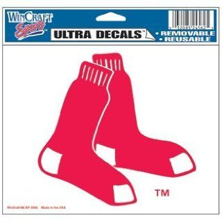 Boston Red Sox Socks Inside Cling Decal (Car / Auto