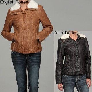 Big Chill Womens Faux Fur Jacket