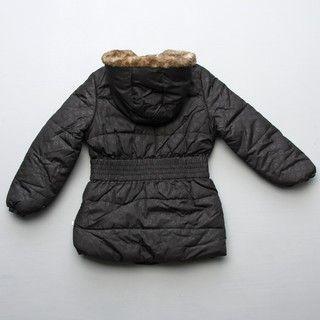 Union Bay Big Girls Faux fur Trim Jacket FINAL SALE