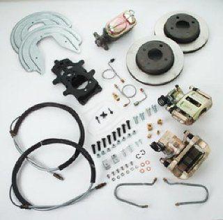 SSBC A112 93 Rear Drum to Disc Brake Conversion Kit