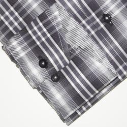 Max Lauren by BRIO Mens Plaid Fashion Dress Shirt