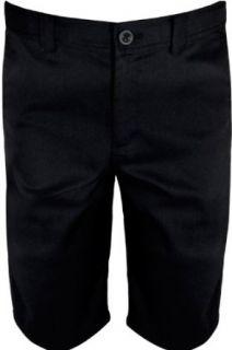 NIKE Boys Dri FIT Golf Shorts, Black/Dark Grey, Small