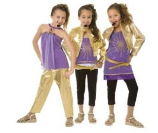 Girls Hannah Montana Halloween Costume (Medium) Clothing