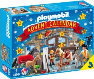 Playmobil 4159 Suburban Life Set Advent Calendar Pony