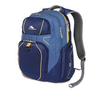 High Sierra FX Blue Velvet/Pacific/Amber Laptop Backpack