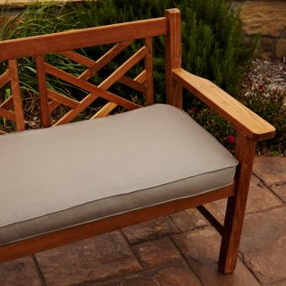 Clara Taupe 60 inch Outdoor Sunbrella Bench Cushion