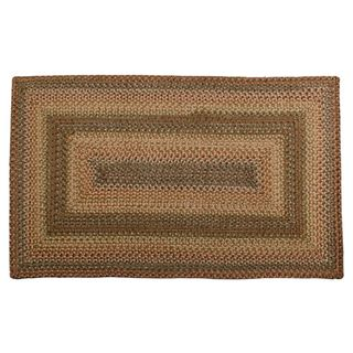 Spanish Moss Braided Indoor/ Outdoor Runner Rug (26 x 6)