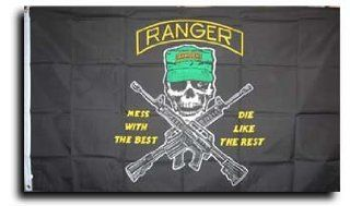 Army Rangers   Army Rangers Flag Patio, Lawn & Garden