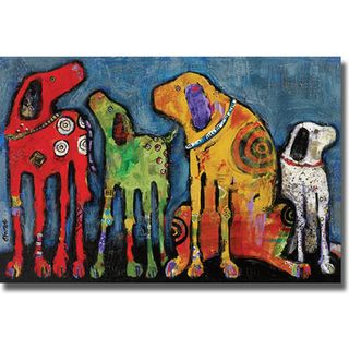 Jenny Foster Best Friends Canvas Art