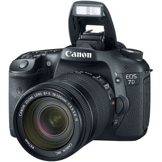 Canon EOS 7D EF S 18MP Digital SLR Camera with 18 135mm IS Lens Today