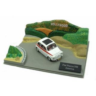 Fiat Nuova 500 America 143 avec Diorama   Achat / Vente MODELE REDUIT