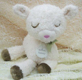 Hallmark Baby Plush BBY4072 Sammy the Lamb: Toys & Games
