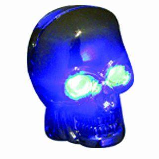 Pilot Automotive CZ 122B Skull Windshield Washer Nozzle with Blue LED