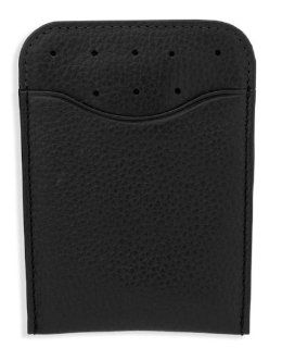 Cross Autocross Leather Money Clip Card Case Black (AC122