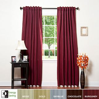 Hotel Stripe 63 inch Insulated Blackout Curtains