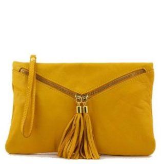 Tuscany Leather Audrey   Italian Leather Handbag Red