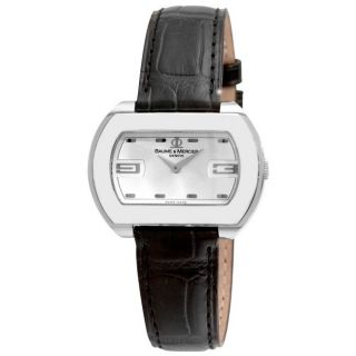 Baume & Mercier Womens Hampton City Silver Dial Watch