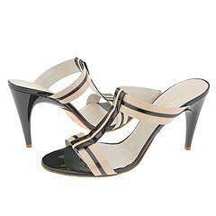 Kenneth Cole New York Stripe A Pose Natural/Black