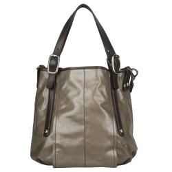Tods Sacca Coated Canvas Medium Tote Bag
