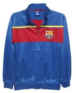 UEFA Adult FC Barcelona Track Jacket   Away Clothing
