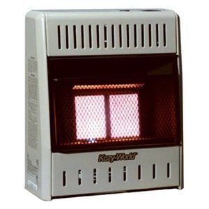 Kozy World KWP122 10,000 BTU Vent Free LP Gas Infrared