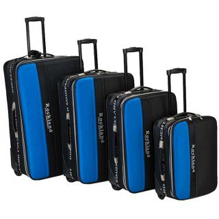 Rockland Polo Equipment 4 piece Luggage Set