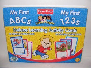 Deluxe Learning & Activity Cards My First Abcs & 123s Toys & Games