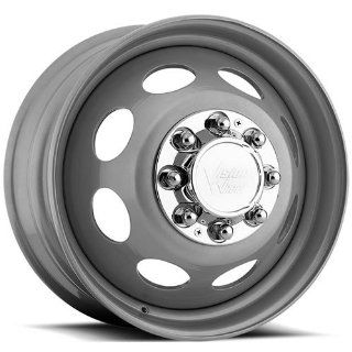 Vision Heavy Hauler 19.5 Silver Wheel / Rim 8x6.5 with a 127.15mm