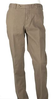 Burberry Mens Light Brown Cotton Pants