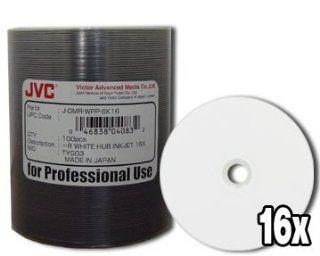 Taiyo Yuden 16X 4.7GB White Inkjet Hub DVD R 100 Pak
