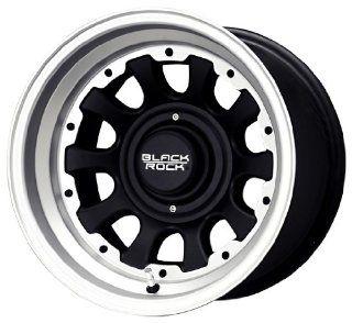 Black Rock Type D Alloy 909 Tungsten and Matte Black Wheel (15x8