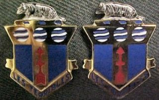 128th Infantry Distinctive Unit Insignia   Pair Clothing
