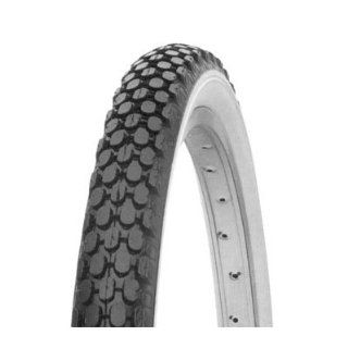 Bicycle Tire (Wire Bead, 26 x 2.125, White Wall) Sports & Outdoors