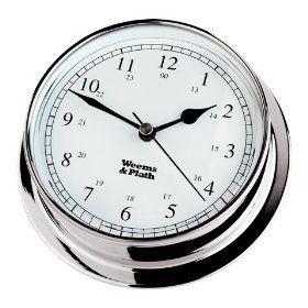Endurance Collection 125 Quartz Clock (Chrome)
