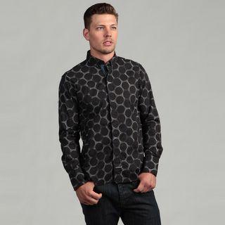 Scott Weiland Mens Black Woven Shirt